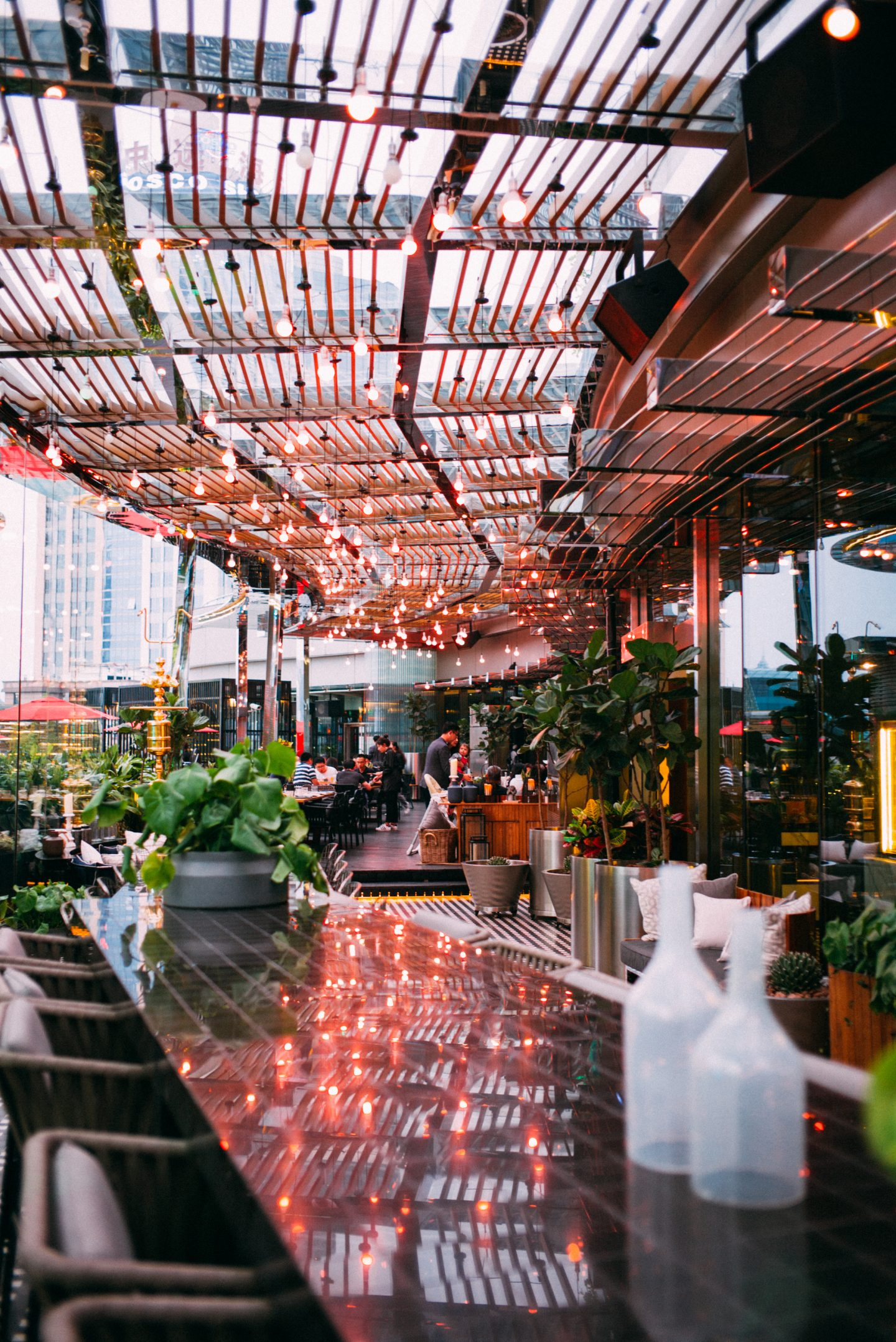 W Shanghai restaurant outdoor