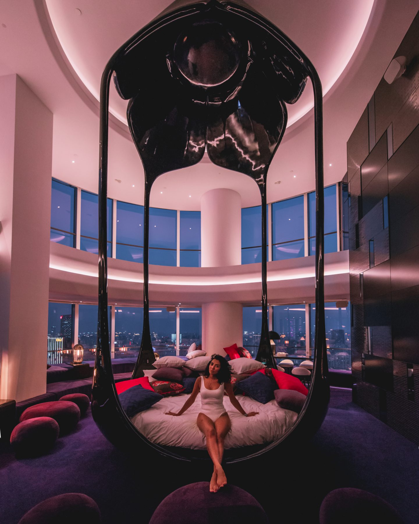 W Shanghai bedroom suite