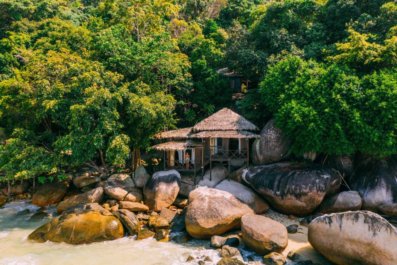 bungalow at Tioman island